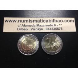 PORTUGAL 2 EUROS 2009 ANIVERSARIO EMU SC BIMETALICA