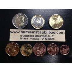 ESPAÑA MONEDAS EURO 2012 SIN CIRCULAR 1+2+5+10+20+50 Centimos 1 EURO + 2 EUROS
