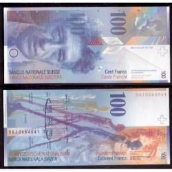 SUIZA 100 FRANCOS 1996 SC- Pick 72A Francs SWITZERLAND