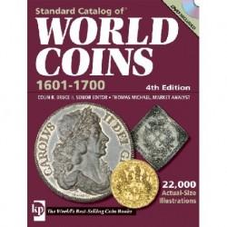 CATALOGO DE MONEDAS MUNDIALES WORLD COINS 1601 1700 Editorial Krause Edición 4th