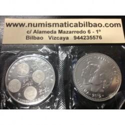 ESPAÑA 30 EUROS 2012 X ANIVERSARIO DEL EURO MONEDA DE PLATA SC