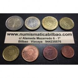 . 1+2+5+10+20+50 Centimos 1€+2€ EUROS HOLANDA 2001 MONEDAS SC-