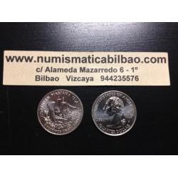 ESTADOS UNIDOS 1/4 DOLAR 25 CENTAVOS 2009 P SC NORTHERN MARIANA
