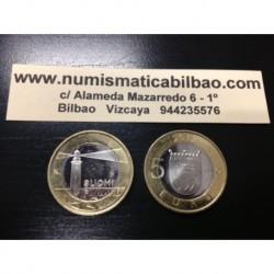 5 EUROS 2013 FINLANDIA Nº 17 ALAND FARO SC MONEDA BIMETALICA