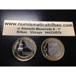 5 EUROS 2013 FINLANDIA Nº 18 TURUN IGLESIA SC MONEDA BIMETALICA