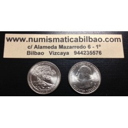 ESTADOS UNIDOS 25 CENTAVOS 2013 P PARQUE NACIONAL GREAT BASIN EN NEVADA ARBOL MONEDA DE NICKEL SC USA QUARTER