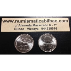 ESTADOS UNIDOS 25 CENTAVOS 2013 D PARQUE NACIONAL FORT McHENRY EN MARYLAND MONEDA DE NICKEL SC USA QUARTER