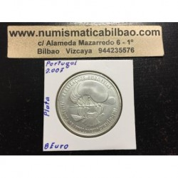 PORTUGAL 8 EUROS 2007 BARTOLOMEU GUSMAO GLOBO AEROSTATICO MONEDA DE PLATA SC silver euro coin