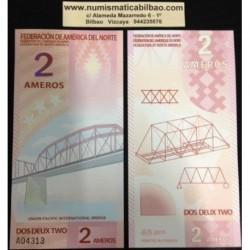 . AMERICA DEL NORTE FEDERACION 2 AMEROS 2011 POLYMER SC