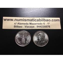 ESTADOS UNIDOS 1/4 DOLAR 25 CENTAVOS 2000 D SC MARYLAND