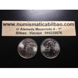 ESTADOS UNIDOS 1/4 DOLAR 25 CENTAVOS 2000 D SC NEW HAMPSHIRE