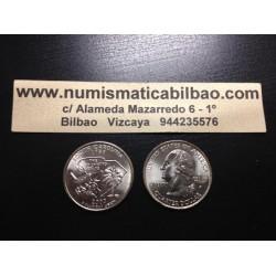 ESTADOS UNIDOS 1/4 DOLAR 25 CENTAVOS 2000 D SC SOUTH CAROLINA