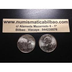 ESTADOS UNIDOS 1/4 DOLAR 25 CENTAVOS 2001 D SC KENTUCKY
