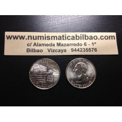 ESTADOS UNIDOS 1/4 DOLAR 25 CENTAVOS 2001 P SC KENTUCKY