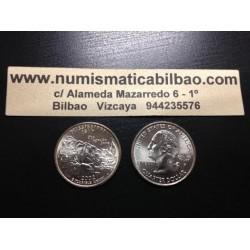 ESTADOS UNIDOS 1/4 DOLAR 25 CENTAVOS 2002 D SC MISSISSIPPI