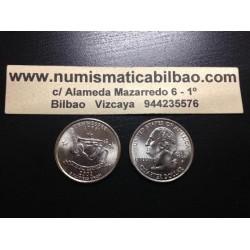 ESTADOS UNIDOS 1/4 DOLAR 25 CENTAVOS 2002 D SC TENNESSEE