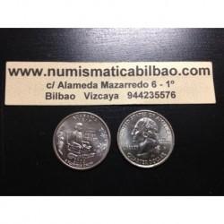 ESTADOS UNIDOS 1/4 DOLAR 25 CENTAVOS 2003 D SC ALABAMA