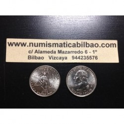 ESTADOS UNIDOS 1/4 DOLAR 25 CENTAVOS 2003 D SC ILLINOIS