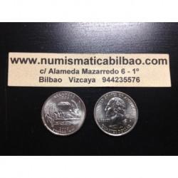 ESTADOS UNIDOS 1/4 DOLAR 25 CENTAVOS 2003 D SC ARKANSAS
