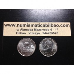 ESTADOS UNIDOS 1/4 DOLAR 25 CENTAVOS 2003 P SC ARKANSAS