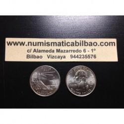 ESTADOS UNIDOS 1/4 DOLAR 25 CENTAVOS 2003 D SC MAINE