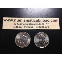 ESTADOS UNIDOS 1/4 DOLAR 25 CENTAVOS 2005 D SC KANSAS