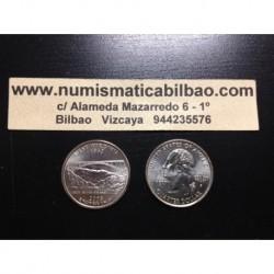 ESTADOS UNIDOS 1/4 DOLAR 25 CENTAVOS 2005 D SC WEST VIRGINIA
