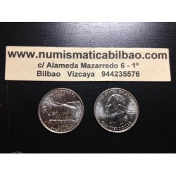 ESTADOS UNIDOS 1/4 DOLAR 25 CENTAVOS 2006 D SC NORTH DAKOTA