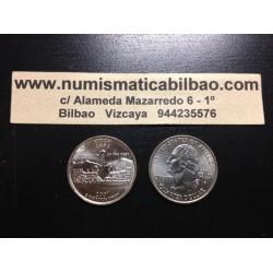 ESTADOS UNIDOS 1/4 DOLAR 25 CENTAVOS 2007 D SC UTAH