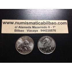 ESTADOS UNIDOS 1/4 DOLAR 25 CENTAVOS 2008 P SC ALASKA