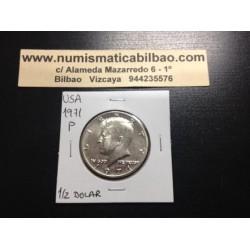 ESTADOS UNIDOS 1/2 DOLAR 1971 P KENNEDY NICKEL SC HALF DOLLAR