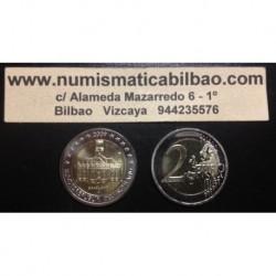 2 EUROS 2009 ALEMANIA IGLESIA EN SAARLAND SC MONEDA BIMETALICA CONMEMORATIVA