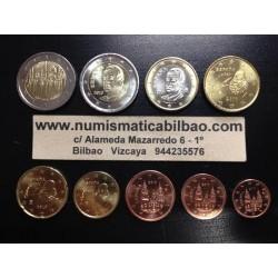 ESPAÑA MONEDAS EURO 2010 SC 1+2+5+10+20+50 Centimos 1 EURO + 2 EUROS + 2 EUROS 2010 MEZQUITA DE CORDOBA