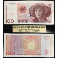 . NORUEGA 100 CORONAS 2007 Pick 49 SC Norway Kroner UNC