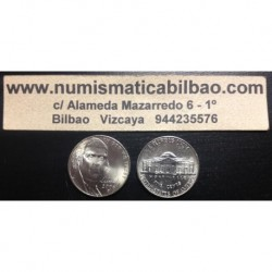. ESTADOS UNIDOS 5 CENTAVOS 2014 D JEFFERSON NICKEL SC CENT USA