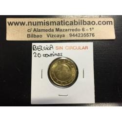 BELGICA 20 CENTIMOS 2003 SC MONEDA COIN Belgium Cts