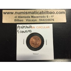 ALEMANIA 1 CENTIMO 2002 G SC MONEDA COIN Germany BRD Euro Cts