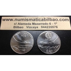 PORTUGAL 2,50€ EUROS 2014 AVIACION PORTUGUESA NICKEL SC