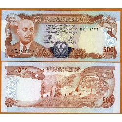 AFGANISTAN 500 AFGHANIS 1977 DAUD QUASI PICK 52 BILLETE SC AFGHANISTAN UNC