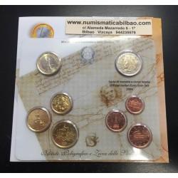 ITALIA CARTERA OFICIAL EUROS 2006 SC 1+2+5+10+20+50 CENTIMOS 1 EURO + 2 EUROS BU SET KMS 8 MONEDAS