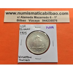 ESTADOS UNIDOS 1/2 DOLAR 1936 LEXINGTON CONCORD SESQUICENTENNIAL MONEDA DE PLATA SC Half Dollar Commemorative