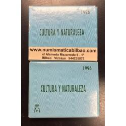 ...ESPAÑA CULTURA y NATURALEZA 2000 PESETAS 1994 TOROS PLATA