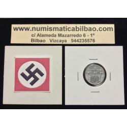 BOHEMIA y MORAVIA 10 HALERU 1943 Hoy Chekia KM.1 MONEDA DE ZINC OCUPACION NAZI III REICH WWII @RARA@
