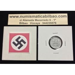 NORUEGA 10 ORE 1942 LEON KM*389 ZINC III REICH NAZI WWII