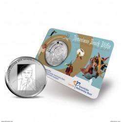 HOLANDA 5 EUROS 2016 JERONIMUS BOSCH SC COIN CARD COINCARD