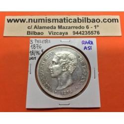 @RARA ASI@ ESPAÑA 5 PESETAS 1876 * 18 76 DEM REY ALFONSO XII MONEDA DE PLATA EN PRECIOSA CONSERVACION (DURO) Spain silver KM.671