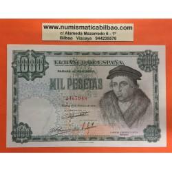 ESPAÑA 1000 PESETAS 1946 LUIS VIVES Sin Serie 2467948 Pick 133 BILLETE EBC- Spain