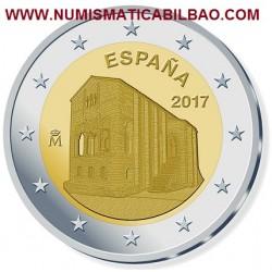 @NOVEDAD@ ESPAÑA 2 EUROS 2017 IGLESIA SANTA MARIA DEL NARANCO SC MONEDA CONMEMORATIVA Spain Spanien