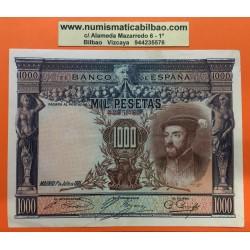 ESPAÑA 1000 PESETAS 1925 CARLOS I Sin Serie 4235482 Pick 70C BILLETE MBC+ Spain banknote