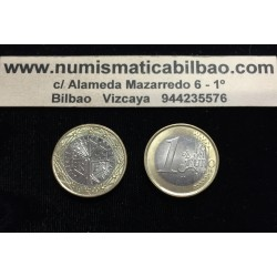 FRANCIA 1 EURO 1999 ANAGRAMAS SIN CIRCULAR @PRIMER AÑO DE EMISION@ 1€ MONEDA France